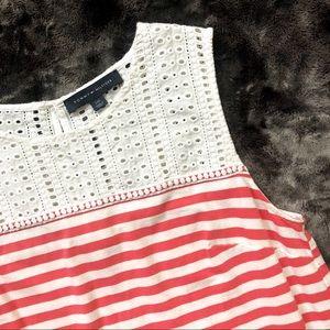 Tommy Hilfiger Coral Stripe Dress